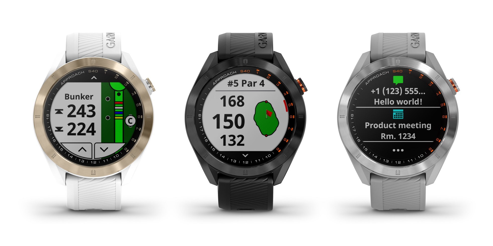 Garmin Approach S40 – Smartwatch och golf-GPS -Michael Broström
