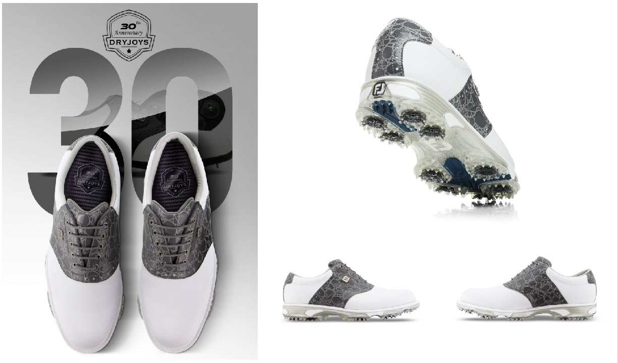 FootJoy firar 30-åringen DryJoys med limited edition DryJoys Tour -Michael Broström