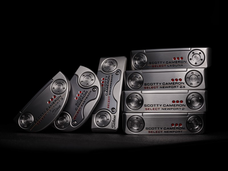 Titleist lanserar nya Scotty Cameron Select-putters -Michael Broström