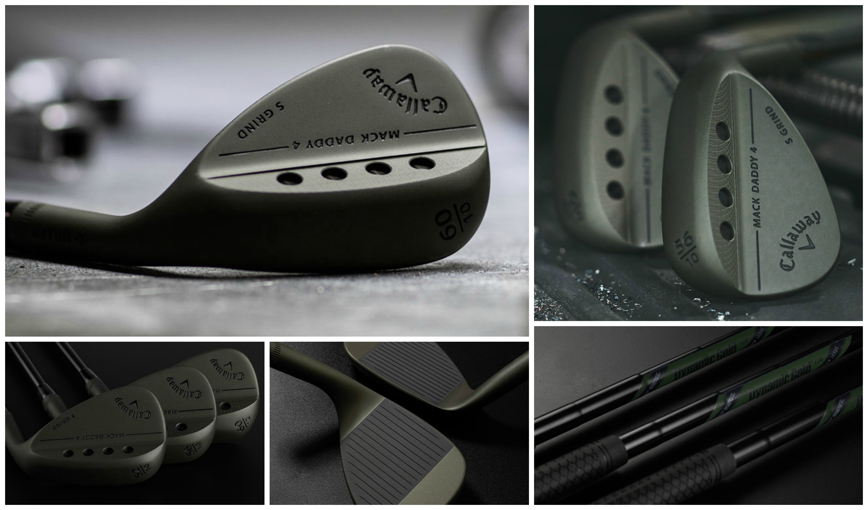 Callaway lanserar nya, tuffa Mack Daddy 4 Tactical Wedge