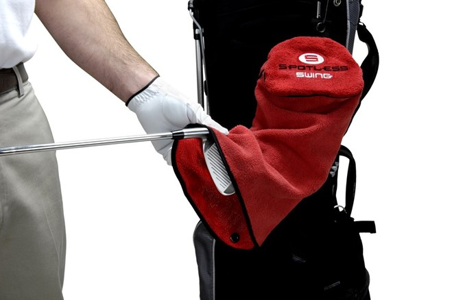 Spotless Swing Golf Towel – tre golfhanddukar i en