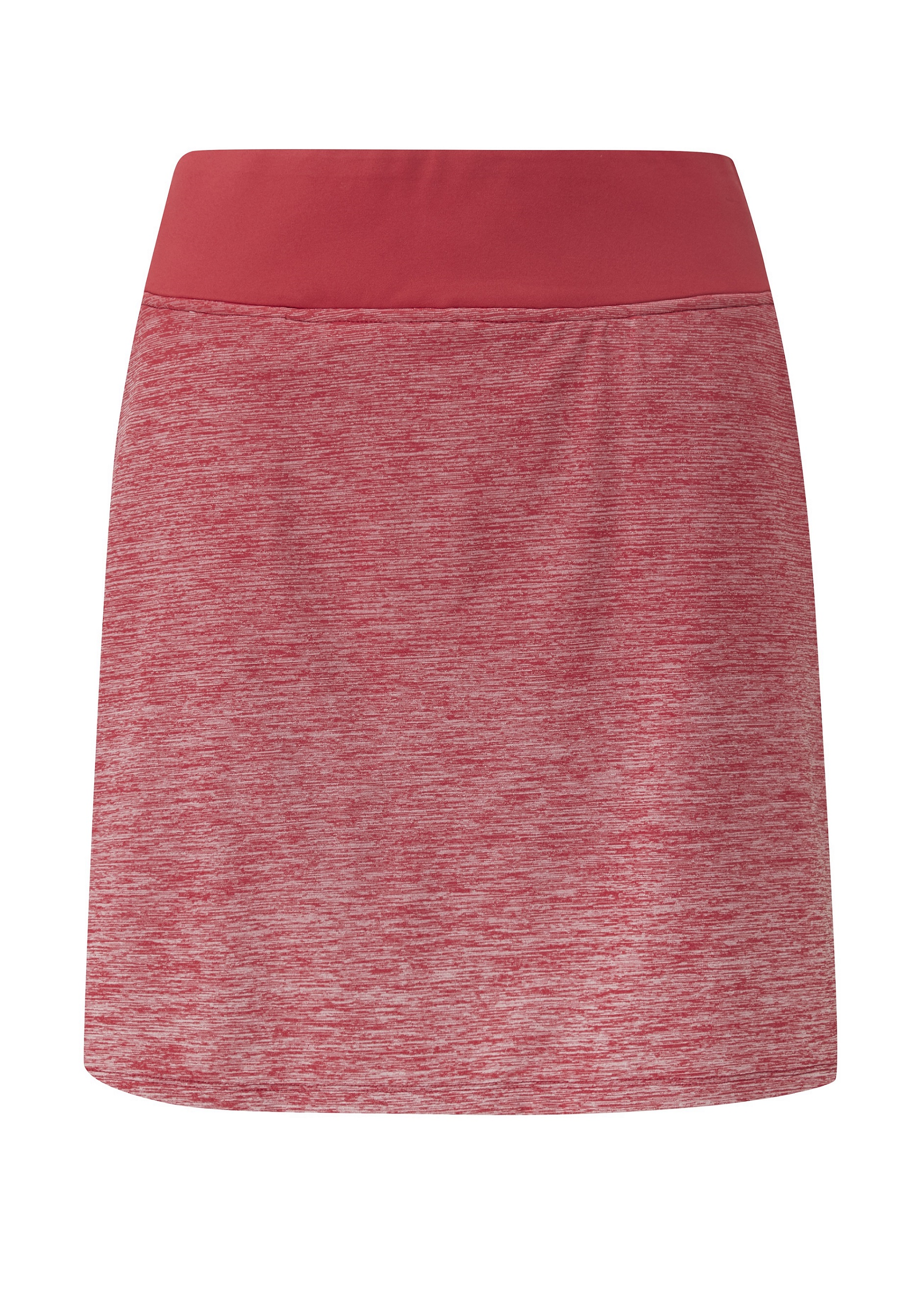 Svalkande vår/sommar-kollektioner från Ping - Vita. Pull-on, yarn-dyed gradient skort, featuring an inner short and two front pockets. Engineered with moisture moving, quick drying and stretch properties.