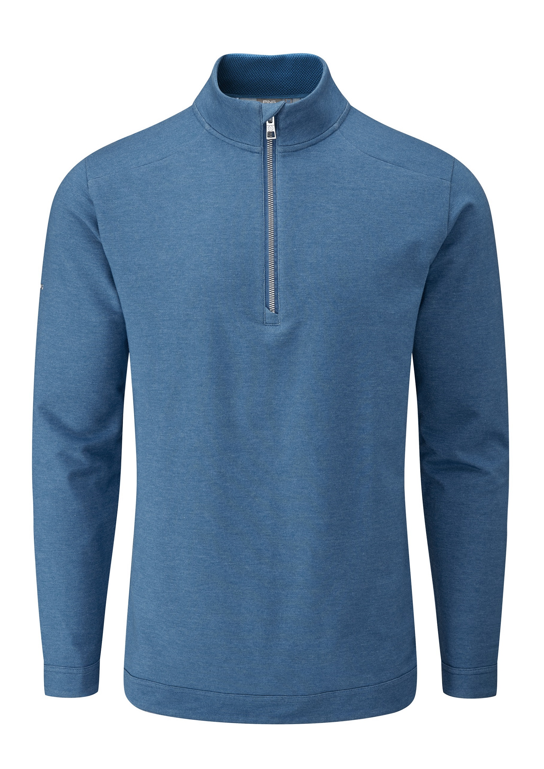 Svalkande vår/sommar-kollektioner från Ping - Herman. Soft-touch, quarter-zip pullover. Engineered with performance blended fabric and soft-cotton touch. Moisture-moving properties make it a year-round companion.