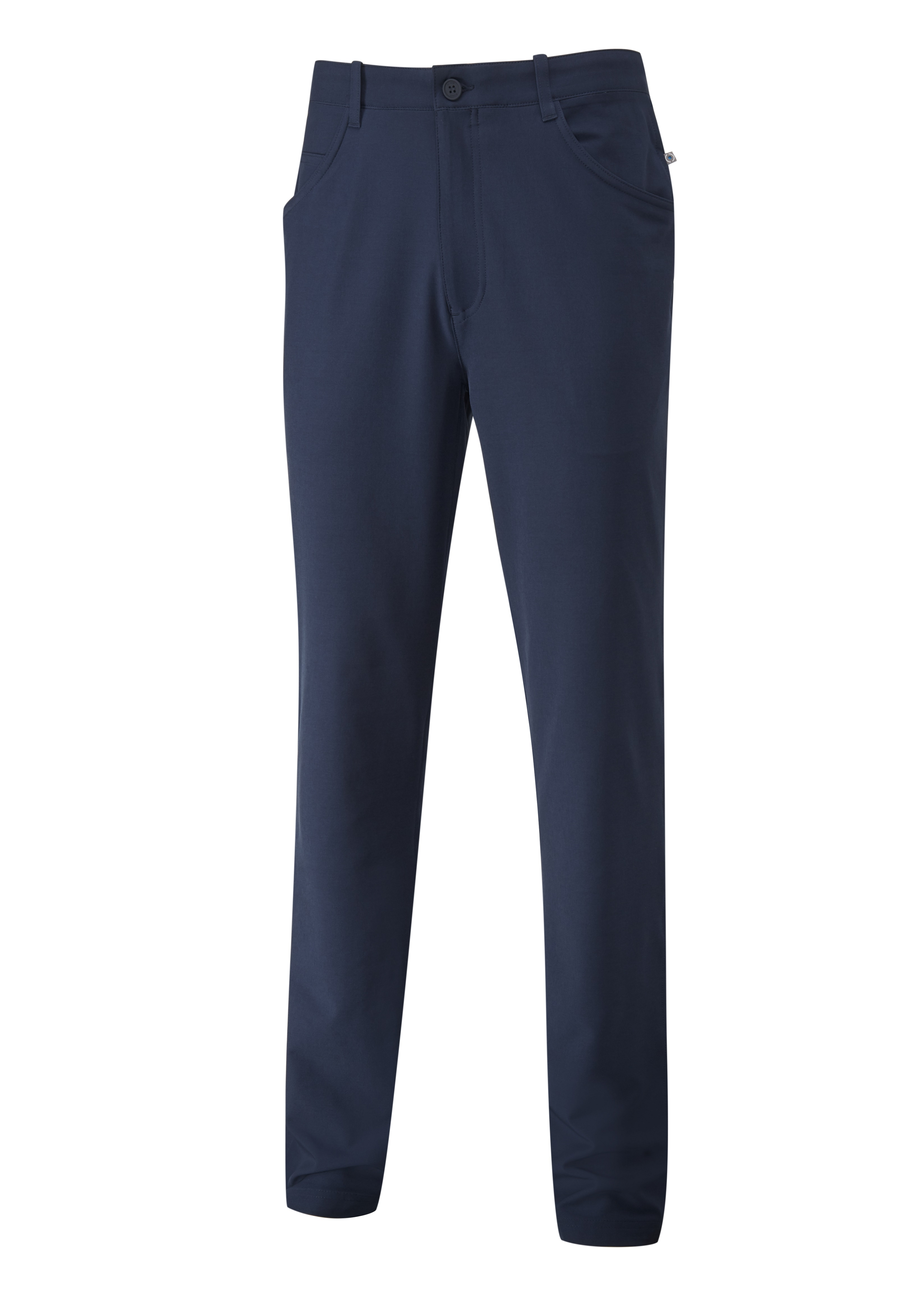 Svalkande vår/sommar-kollektioner från Ping - Players. Five-pocket performance trouser with a slim-fit leg. Engineered with moisture-moving and quick-drying qualities, combined with a four-way stretch design.