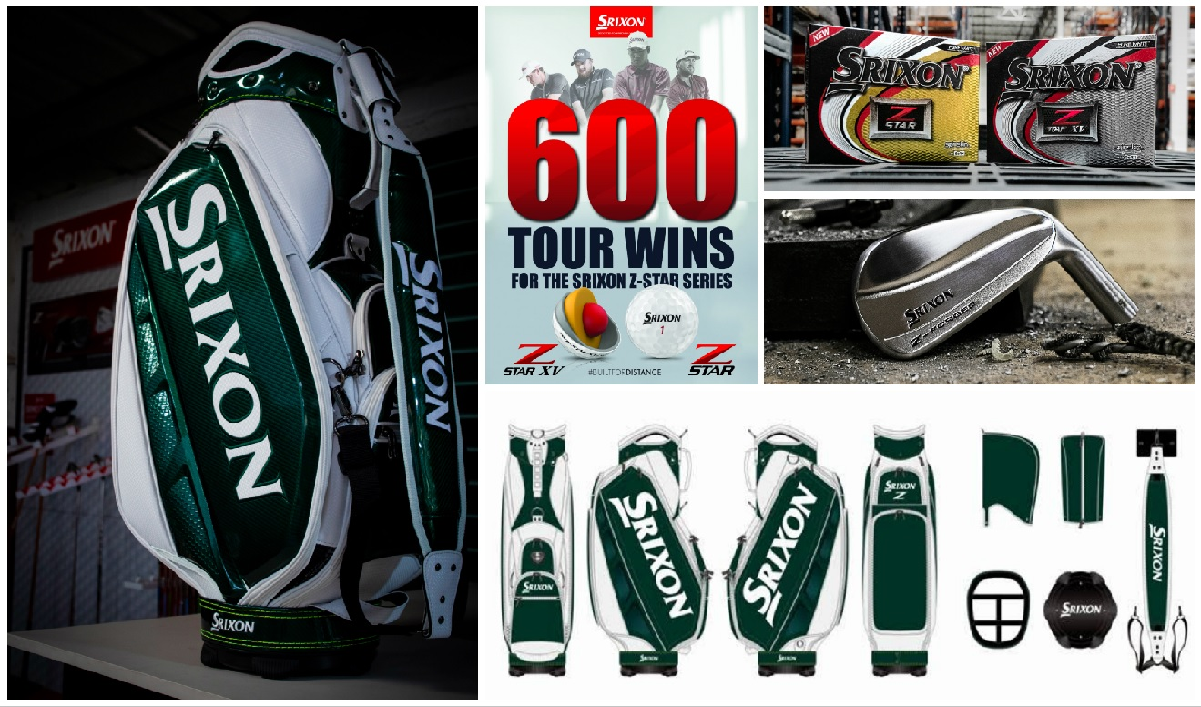 Vinn en limited edition Srixon-bag
